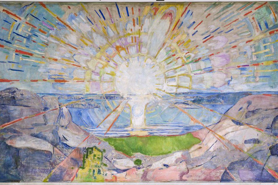 Solen Edvard Munch