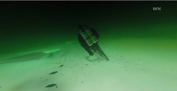 Unter Wasser, Screenshot nrk