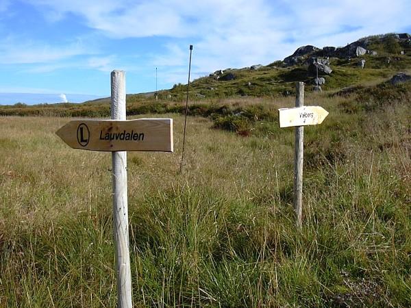 Aaland Gard - Wanderwege