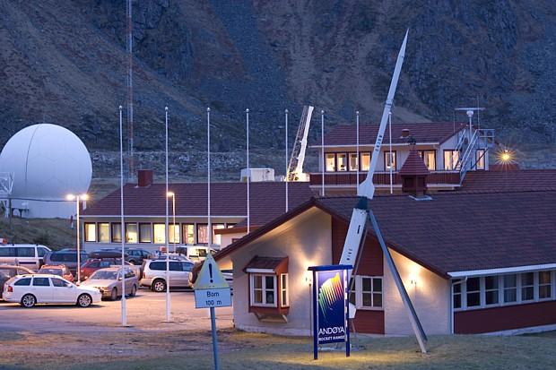 Andenes Raketenstation, (c) Andøya Rocket Range