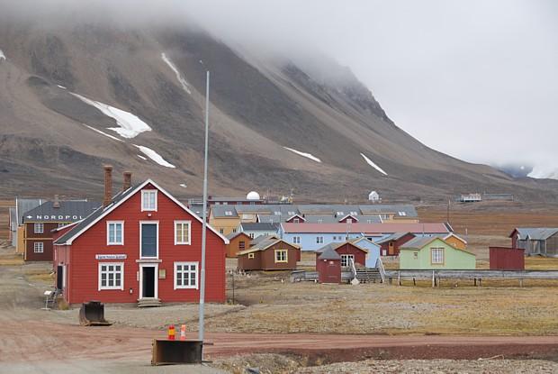 Ny Aalesund auf Spitzbergen