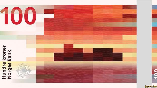 Pixelsalat – Copyright norges bank