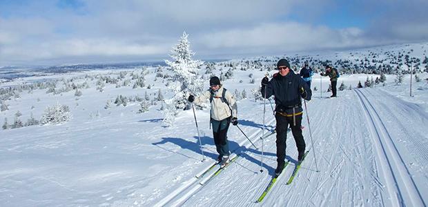 SKilanglaufvergnügen in Norwegen