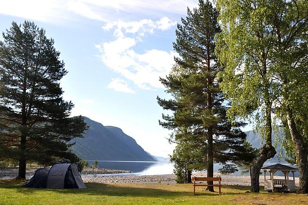 Zeltplatz am Tinnsjø Camping