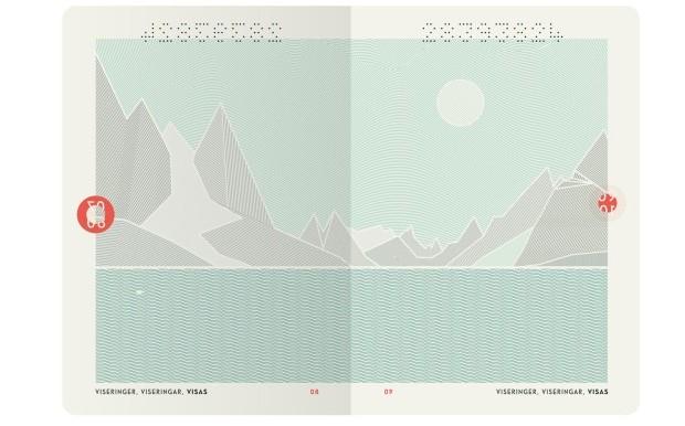 Norwegischer Reisepass