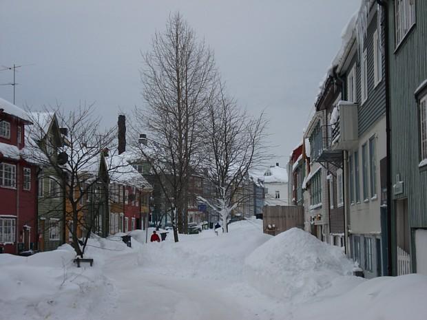 Tromsoe – Haeuser