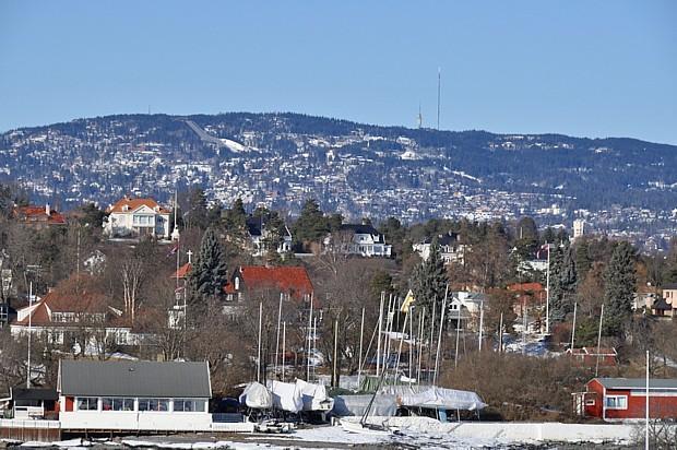 Oslo im Winter