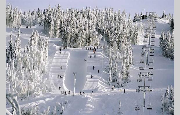 Ski fahren in Oslo, Copyright Kristine, jenteredaksjon
