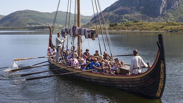 Wikingerchef, Copyright: Kjell Ove Storvik/Lofotr Vikingmuseum