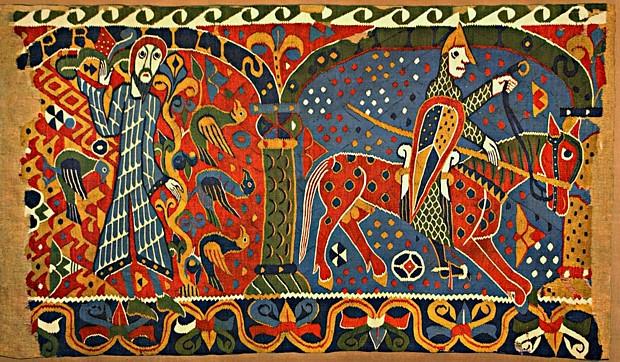 Der Baldishol-Teppich, (c) wikipedia