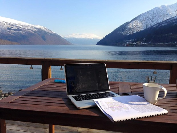 Balestrand am Sognefjord