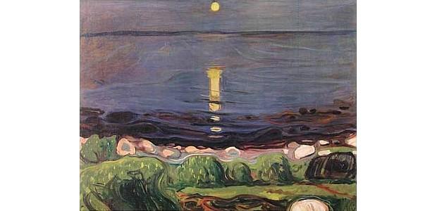 Edvard Munch – Sommernacht am Strand
