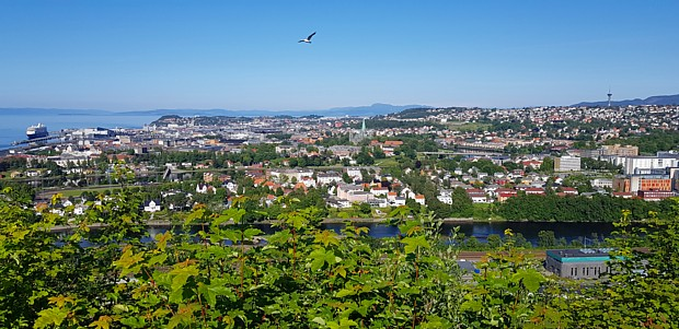 Trondheim Blick