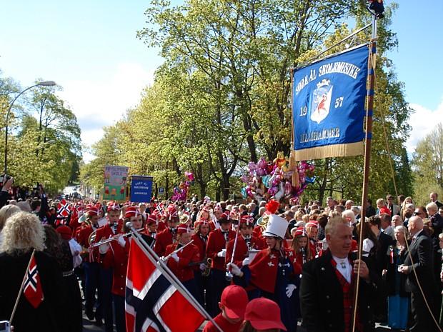 17 Mai in Lillehammer