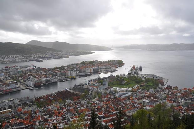 Titelbild Floyen in Bergen