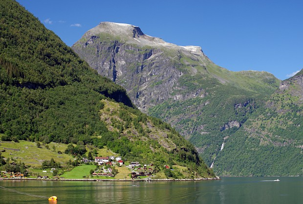 Der Geirangerfjord im Sommer – Copyright Reinhard Pantke