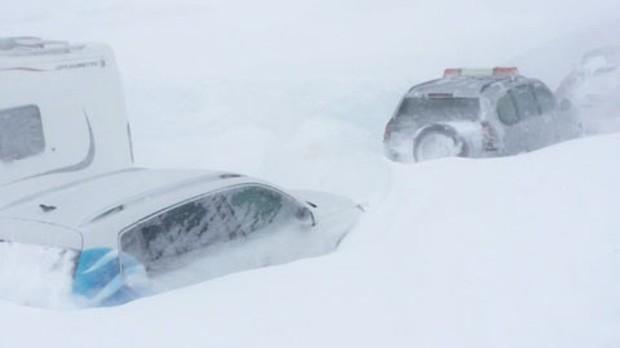 Sognefjell im Schnee, Copyright Ove Fortun, nrk