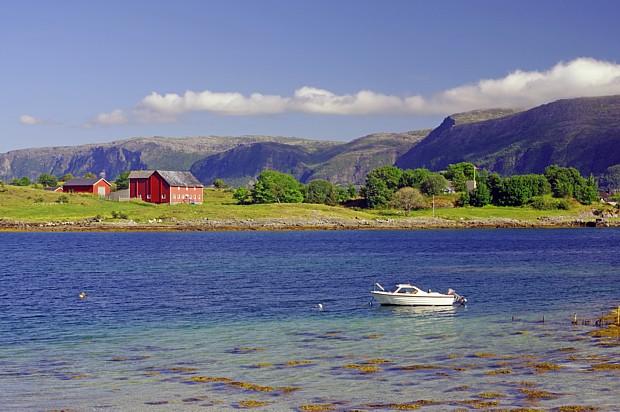 Unterwegs in Helgeland – Copyright Reinhard Pantke