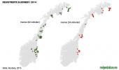 Baeren Vorkommen in Norwegen