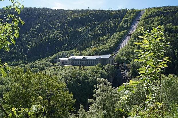Vemork Kraftwerk Rjukan Wikipedia Vikebo