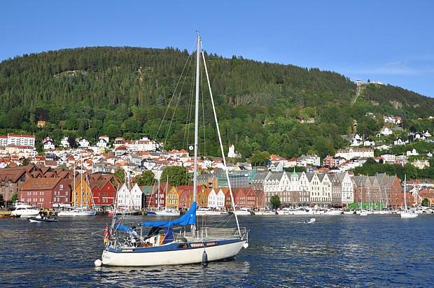 Bergen – Hafen Titel