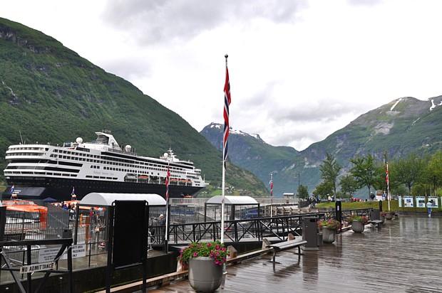 Kreuzfahrtschiff Geiranger