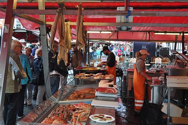Der Bergen Fischmarkt anno 2015