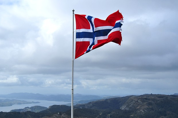 Norwegens Flagge Titel