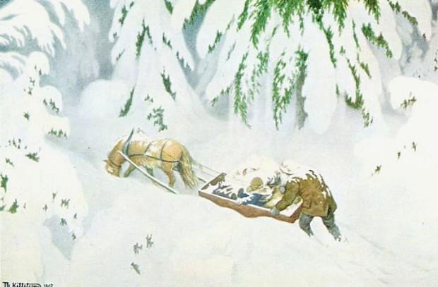 Kittelsen Vintereventyr