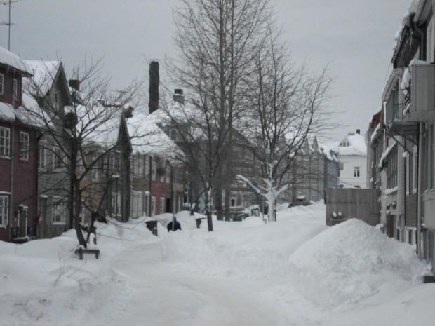 Tromsø mitten im Winter