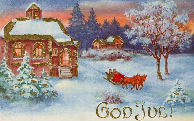 Frohe Weihnachten Norwegisch.God Jul Frohe Weihnachten Norwegen Service