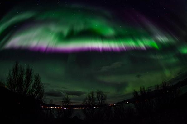 Nordlicht ueber Norwegen Copyright Karina Weinschenk