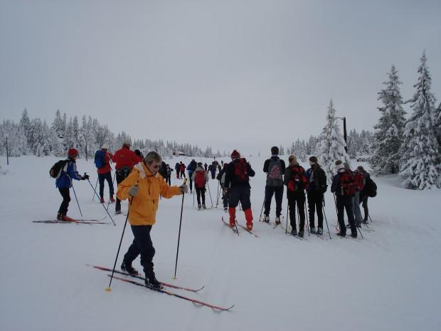 Ski Fahren Langlauf Sjusjøen Nordseter