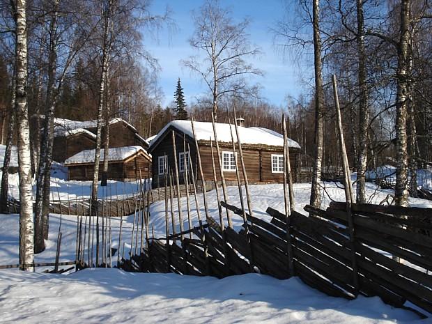 Winter Schnee Maihaugen Lillehammer