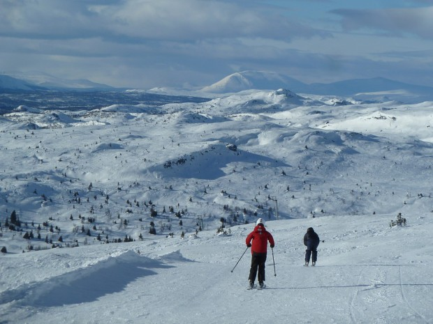 Ski Schnee Skeikampen Abfahrtslauf