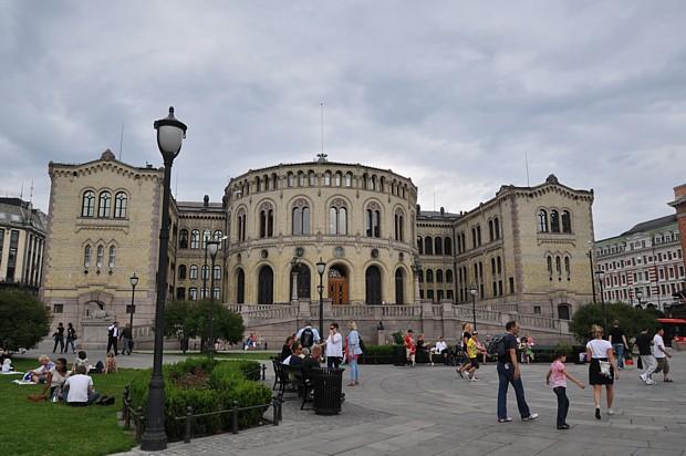 Parlament Oslo Politik Wirtschaft Storting