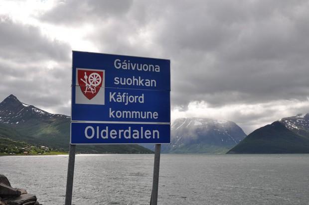 Norwegen - Ortsschild