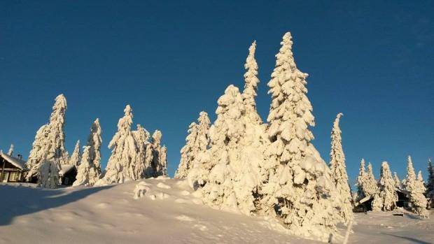 Toller Winter mit viel Schnee in Lillehammer