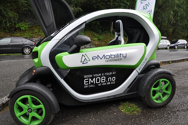 Elektroauto Geiranger Auto