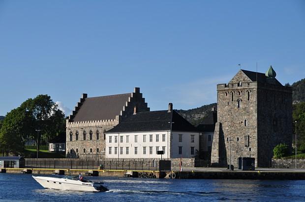Festung Beregsnhus mit Rosenkrantzturm – rechts