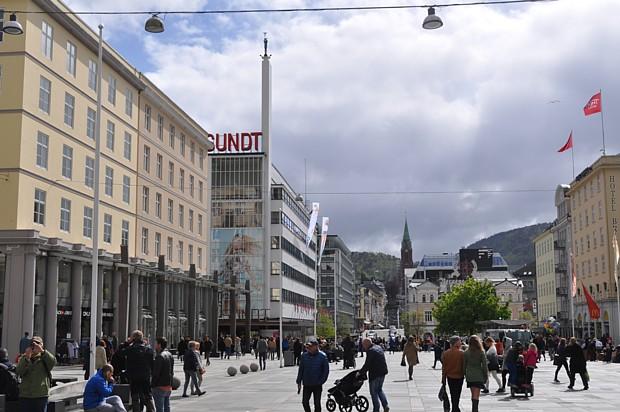 Torgallmenning in Bergen
