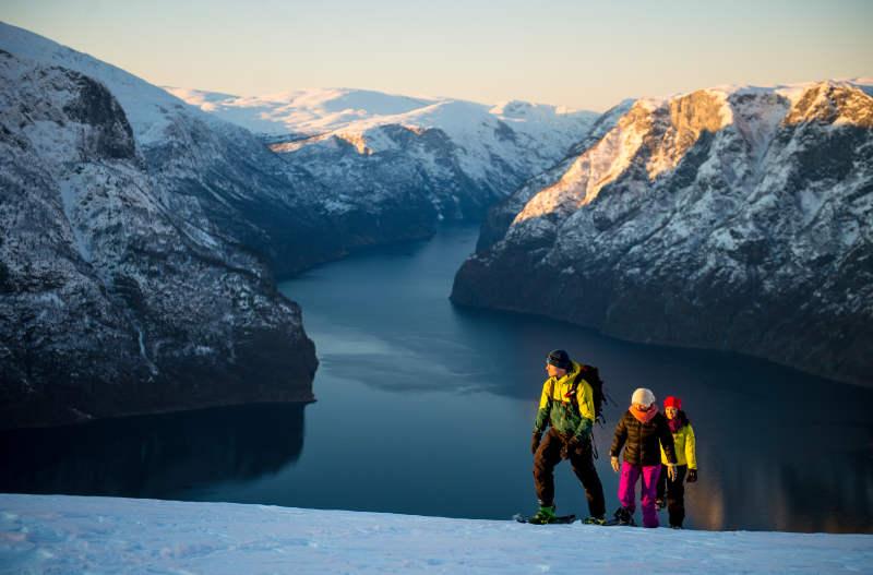 Schneeschuhwandern Norwegen Copyright Visit Norway