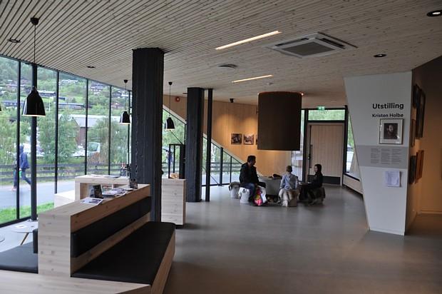 Norwegische Huette Innenraum