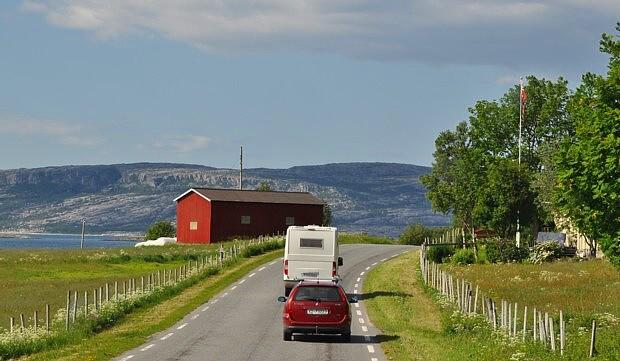 Womo Wohnwagen Norwegen