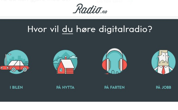 Digitalradio Norwegen