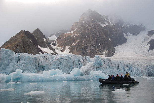 Spitzbergen Gletscher Copyright Elinor Rafaelsen