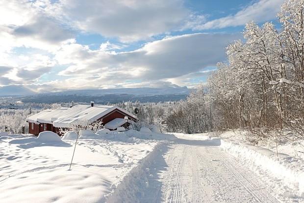 Beitostølen im Winter Copyright Detlef Hülse