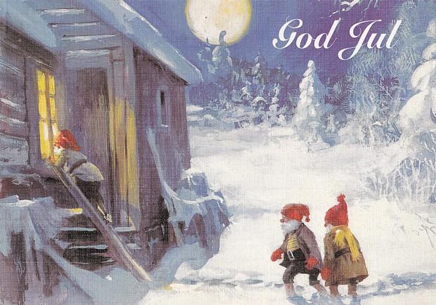 Weihnachten Weihnachtskarte julekort god jul