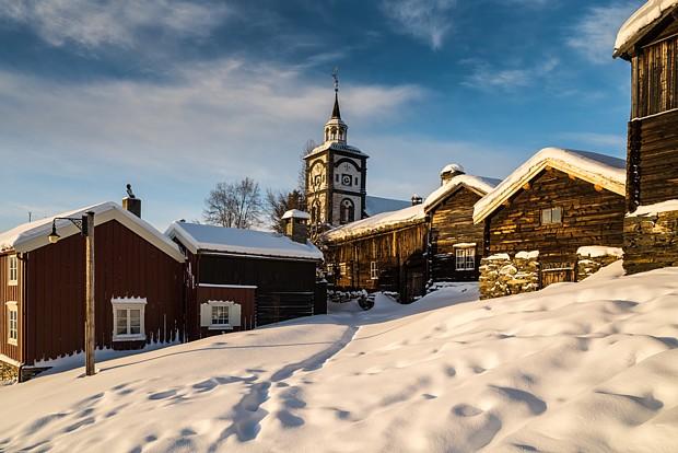 Røros Copyright Sirko Trensch – norwegen-fotografie.de
