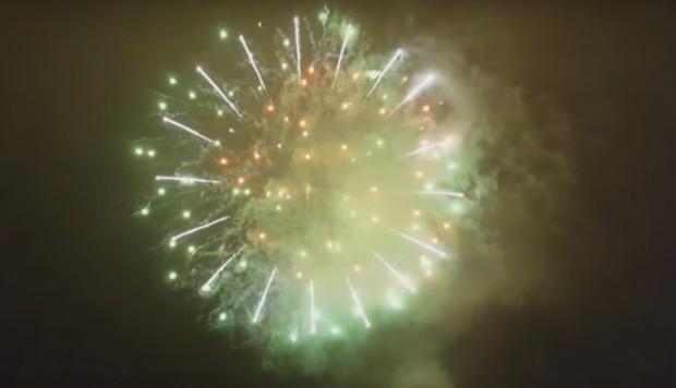 Feuerwerk Oslo 2 Neujahr